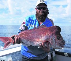 Some really good snapper are available in close if you put in the time and effort in May.