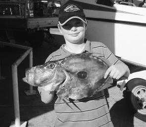 Jacob Hodges took this 2.6kg john dory on board local charter boat Kunara just off Little Island.