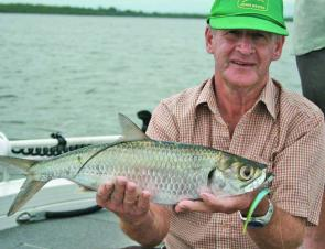 Tarpon are great fun on just about any tackle with their energetic fight and constant aerial displays.