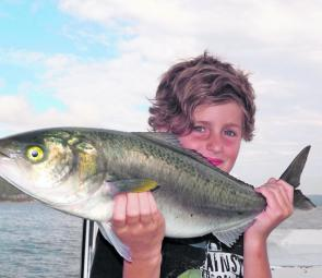 Kids, big salmon and light tackle – a proven recipe for fun.
