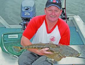 October is flattie time in Lake Illawarra and there already are some nice fish about.