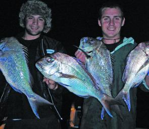 There are some quality snapper taken in the Brisbane River on lures and baits during winter.