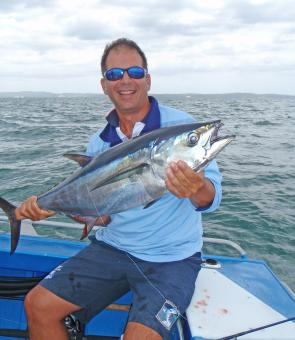 If the usual baitfish influx to the bay happens this November, there should be some decent schools of longtail tuna about.