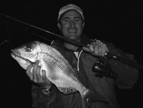 The snapper fishing at night has been great this season.