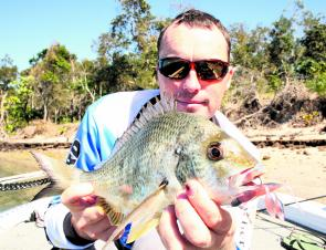 Some good-sized bream should be making an appearance this month.