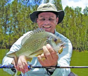Quality bream can be found in the Camden Haven River this month. They will be susceptible to a variety of hard lures.