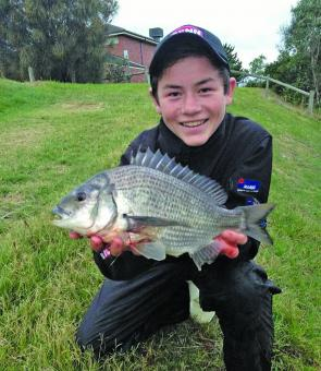 Keen young anglers have been doing well in Kananook and Balcombe creeks.
