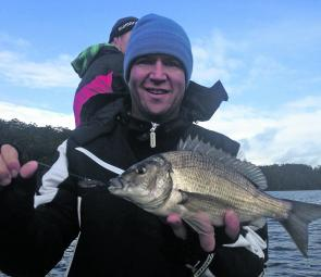 Winter bream can be hard to find but once found there can be some great fishing.