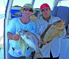 You will get good mixed bags off Wide Caloundra in January.