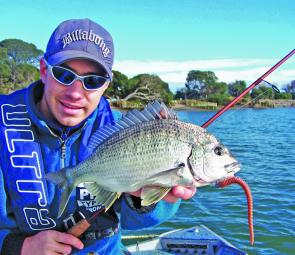The Barwon bream are an enigma to many, especially when it comes to fooling them with artificials.
