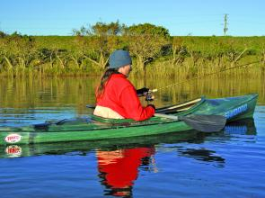 Kayaks and canoes are perfect for bass fishing, opening up country that's not possible to fish when shore-based.