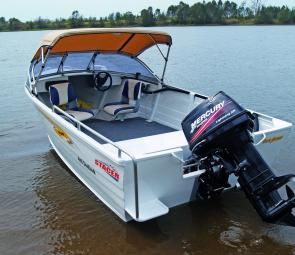 The Stacer 449 Seahawk is a balanced, versatile and economical entry-level runabout.
