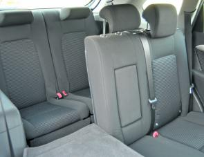 The Captiva's third row of easily assembled, or lowered, seats are ideal for youngsters.