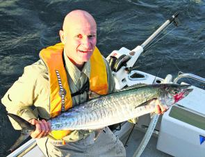 Look out for some early season mackerel if the water warms up.