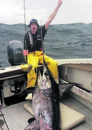 Tasmania is becoming the place to be when targeting massive broadbill swordfish.