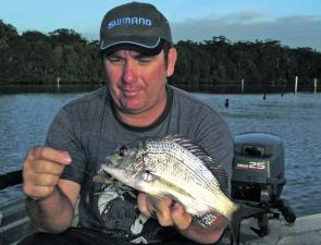 Bream anglers, especially those heading up-river, are running into decent numbers of fish.