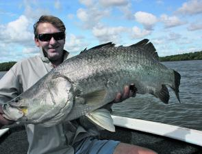 Live baiting in the afternoons has been the best way to get a really good barra lately.