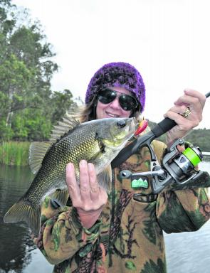 There are bass aplenty in the sweetwater of the Bega/Brogo system or Brogo Dam itself.