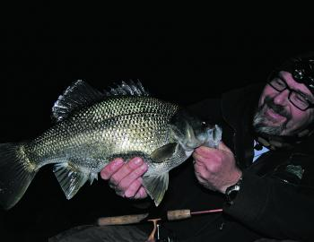 It's best to banish the boogieman to the back of your mind if you want to catch big bass after dark.
