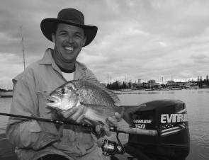 Port Macquarie is an ideal fishing destination. Anthony Nyberg shows you can catch good bream right in the heart of the town centre.