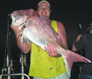 Snapper were the star of the show throughout 2006. Hopefully a few more beauties like this one caught at dusk will show up during 2007.