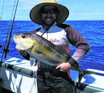 A solid amberjack that gave this angler a workout!