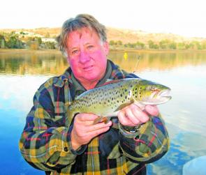 With water levels at their highest in many years there are some great trout available in the lake and in the streams and rivers.