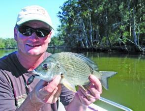 Bream dwelling in the snags up river love fizzers.