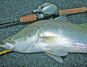 Baitcasting tackle is the preferred tackle to use when casting bigger lures for tropical species like barra and jacks.