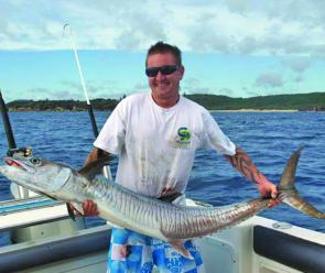Spanish mackerel have been fishing well offshore from the big islands.