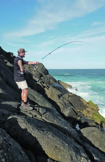 The cooler months provide some awesome rock fishing opportunities.
