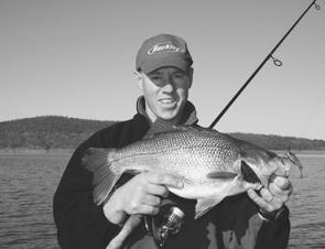 Big fat winter bass are the major drawcard for anglers fishing Wivenhoe Dam during the winter months.