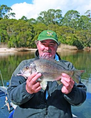 Big bream often need a light leader approach, but don't go too light to start with as you may lose the fish of a lifetime.