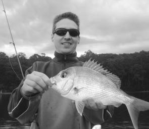 Good estuary snapper like this kilo model will become more prolific as we head further into Spring.