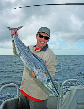 Big Cat Charters take you to the most productive offshore grounds to tangle with fish like this great wahoo.