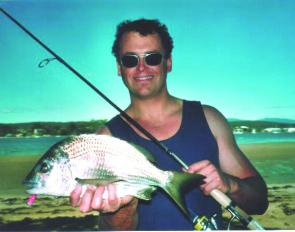 Christopher Brooks scored this superb bream by casting an Attack minnow off the rocks.