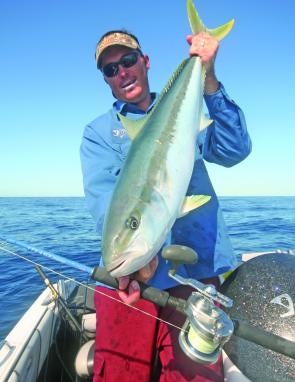 yellowtail kingfish are the principal jigging targets from about the Sunshine Coast to Adelaide