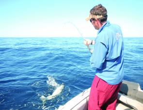 If you intend releasing fish then quality jigging gear can help you get the fish to the boat pretty quickly.