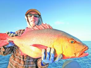 In the tropics, red bass won't swim past a well-presented metal jig.