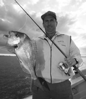 Geoff Taylor with a better than average late afternoon red from Jervis Bay.