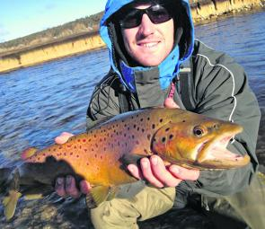 The spawn run has come around again and there will be plenty of these big browns for anglers to target. Please respect everyone's space on the river.