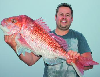 Big snapper is what this area is known for.