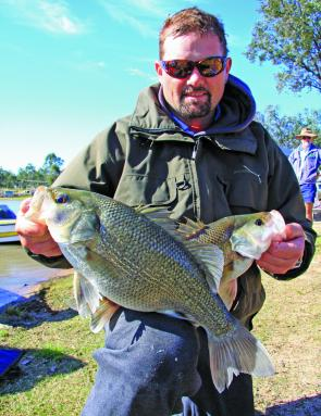 Matthew Mott's session one limit included the event's Big Bass (2kg) and gave him a lead that could not be run down.