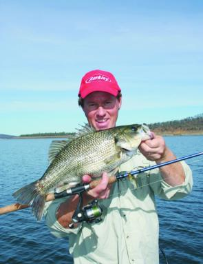 After some of the dams rising, bass will be schooling up and on the bite. Try Mask Vibes in lakes like Somerset and Wivenhoe.