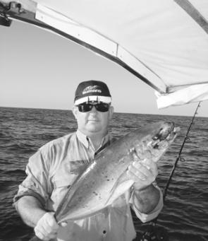 Trevally and other pelagic species have been smashing baits and lures all along the Sunshine Coast recently.