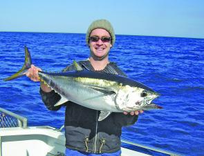Good numbers of tuna have been coming in particularly off of Port MacDonnell.