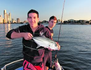 The rivers will still be holding a few trevally throughout this month. A run-out tide in the late afternoon until early evening is prime time to chase these fish.