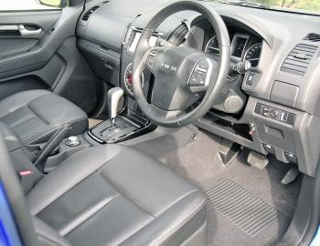 Leather trim on the seats, wheel and gear selector all add a touch of class to the X-Runner's interior.