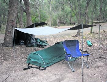 There are heaps of places to camp around Lake Eildon. Some are some free and some requiring prior booking through parkweb.vic.gov.au.