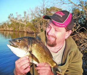 Fishing snags for bream requires heavy leaders and 'drag 'em out kicking' reflexes.